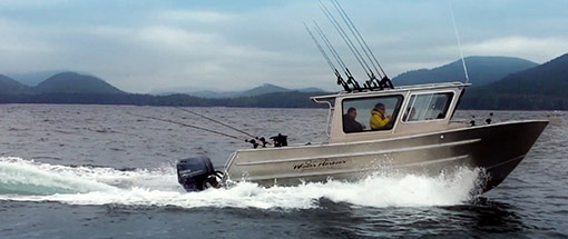 26ft Cabin Cruiser Fishing Vessel